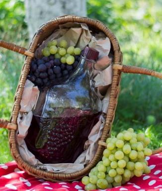 Бутылка для вина 5л.